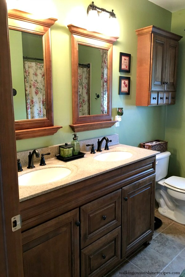 Master Bathroom from Walking on Sunshine
