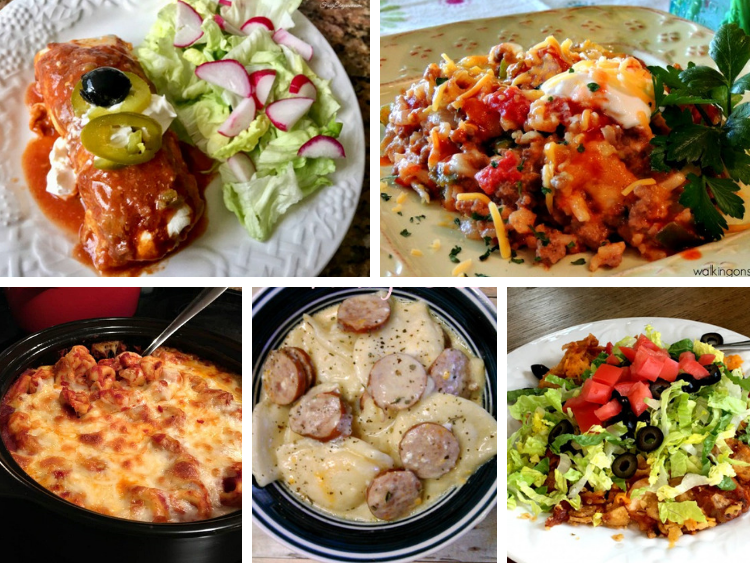 One Pot Meals Weekly Meal Plan | Walking on Sunshine Recipes