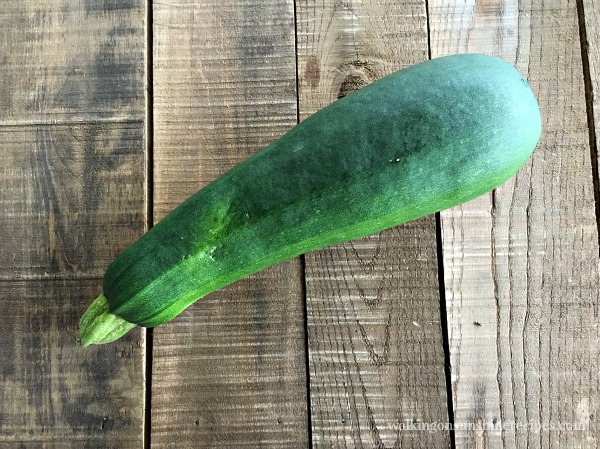 Zucchini used for pizza bites