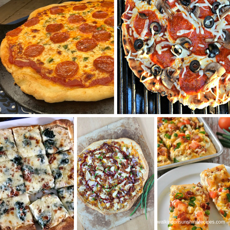 Pizza Weekly Meal Plan