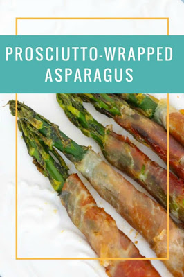 Prosciutto Wrapped Asparagus from The Classy Chapter