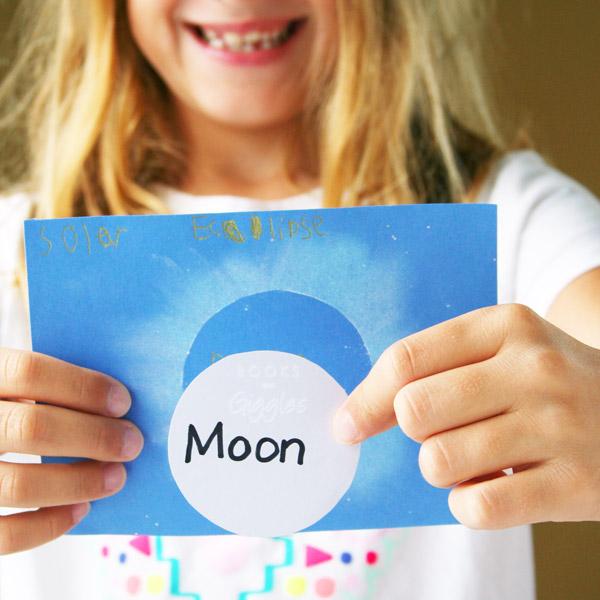 Solar Eclipse Craft for Kids