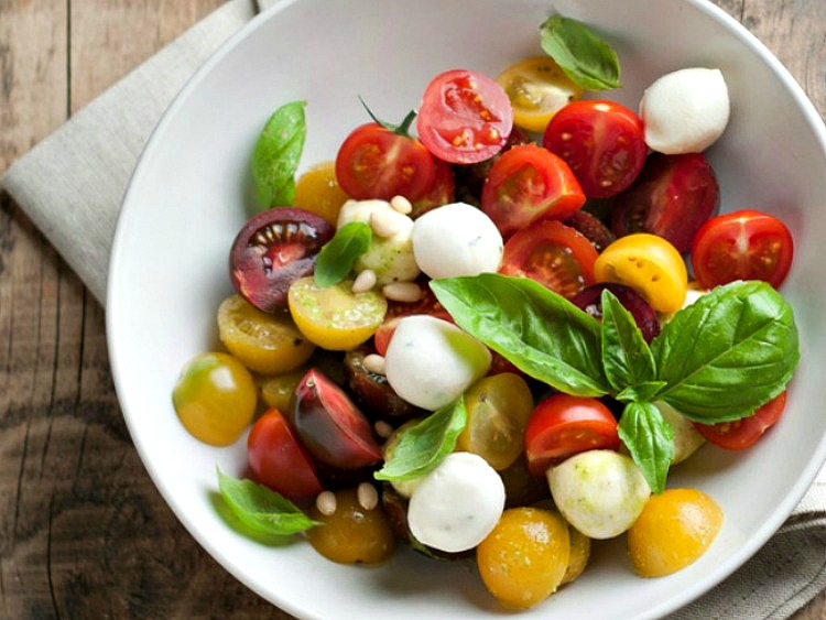 Caprese Salad from Stagetecture