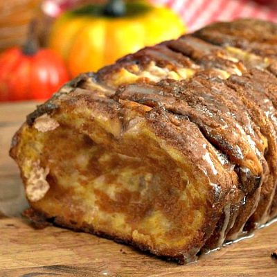 Pumpkin Spice Pull Apart Bread with VIDEO