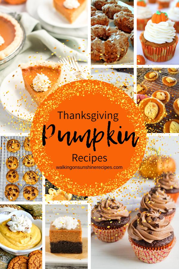 A great collection of pumpkin dessert recipes.