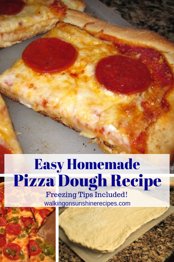 Homemade Pizza Dough Recipe with Freezing Tips