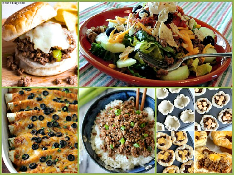 Ground Beef Recipes Weekly Meal Plan FEATURED photo from Walking on Sunshine Recipes
