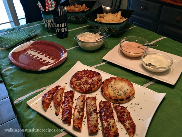 Game Day Appetizers with Red Baron Pizza from Walking on Sunshine Recipes