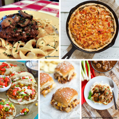 Weekly Meal Plan: 5 Delicious Ground Beef Recipes