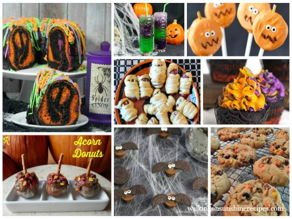 Cute adorable Halloween Treats perfect for school parties | Walking on Sunshine Recipes
