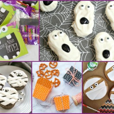Last Minute Halloween School Party Treats