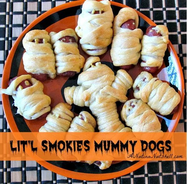 Mummy Hot Dogs from Eat Move Make