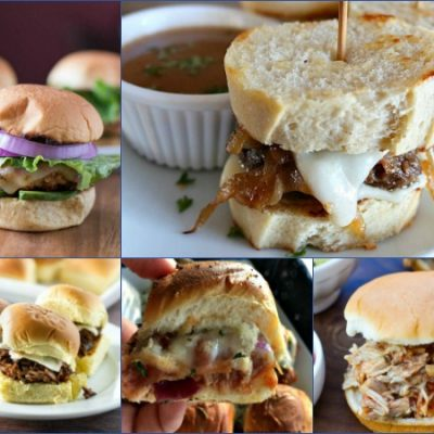 Weekly Menu Plan: Delicious and EASY Slider Sandwiches for Dinner