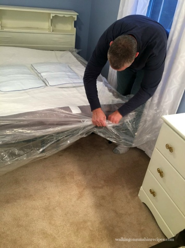 Unwrapping the Nectar Mattress from Walking on Sunshine Recipes.