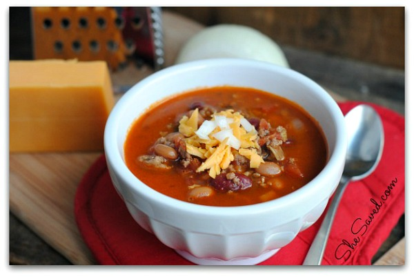 Wendys Chili Recipe from She Saved