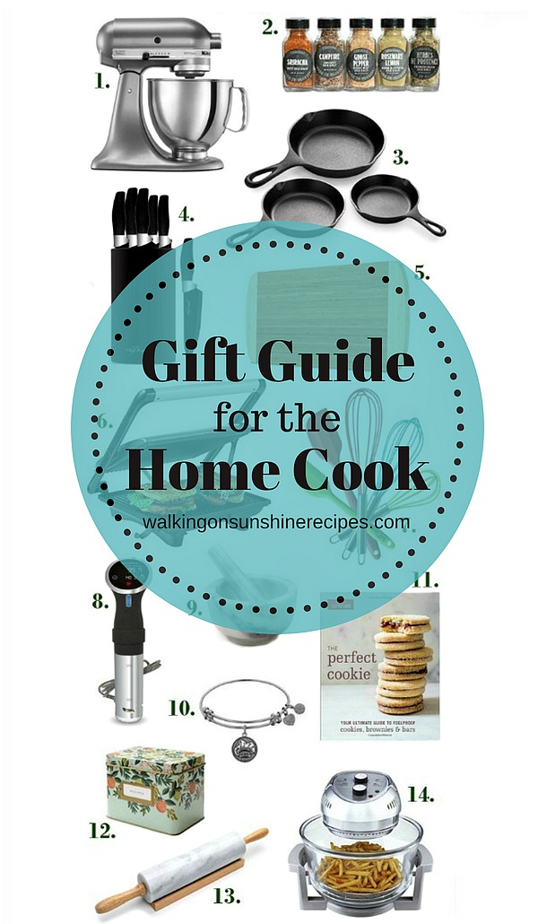 Home Cook Gift Guide from Walking on Sunshine Recipes