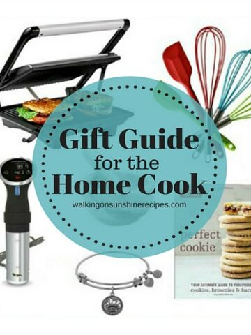 Gift Guide for the Home Cook FEATURED photo from Walking on Sunshine Recipes