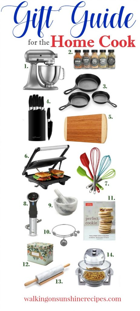 Gifts for the Home Cook or Chef in your life   Walking on Sunshine Recipes   Holiday Gift Guide
