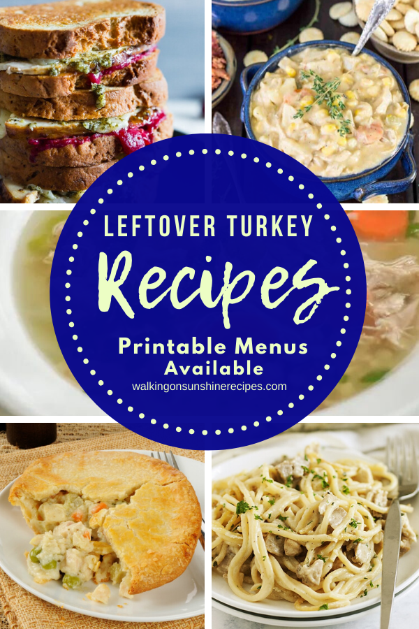 5 leftover turkey recipes perfect for dinner.