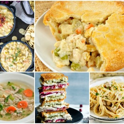 Weekly Menu Plan: 5  Leftover Turkey Recipes for Dinner