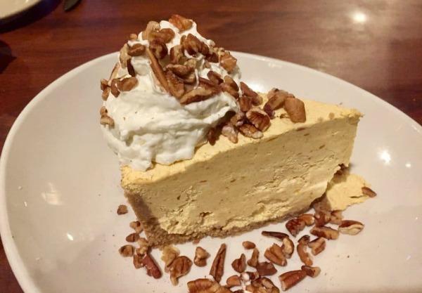 No Bake Pumpkin Cheesecake from Marilyn's Treats