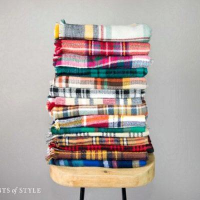 Blanket Scarves Make GREAT Christmas Gifts!