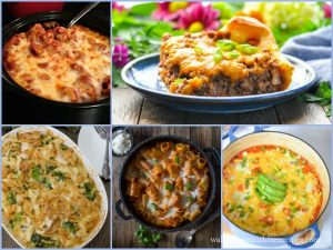 Weekly Menu Plan: Comfort Food Casseroles Perfect for Cold Winter Nights