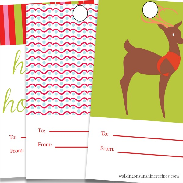 Printable Christmas Gift Tags add that personal touch to the gifts you're giving to family and friends this holiday season.