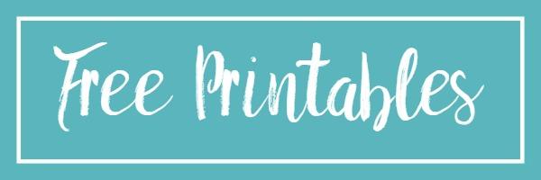 Free Printables Mason Jar Blue Box