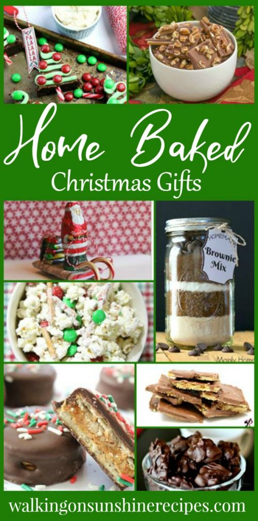 The best home baked Christmas gifts featured on Walking on Sunshine Recipes.
