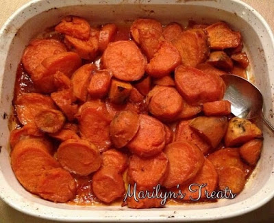 Maple Roasted Sweet Potatoes from Marilyn's Treats