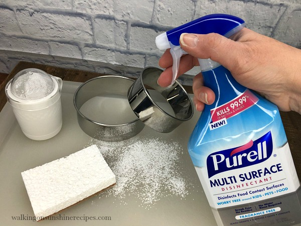 Purell Multi Surface Cleaner from Walking on Sunshine Recipes
