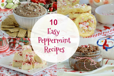 10 Peppermint Recipes from Meatloaf and Melodrama