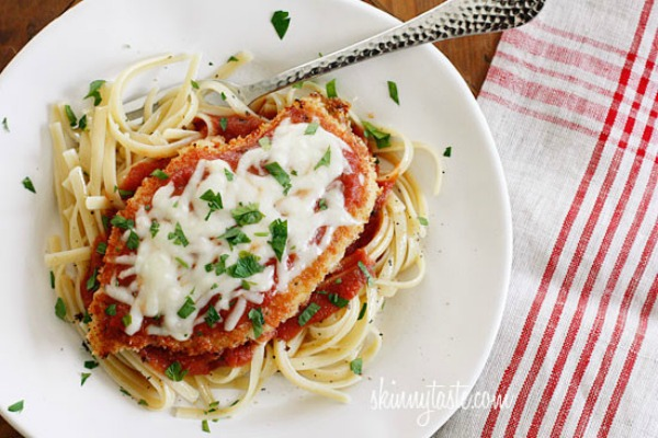 Baked Chicken Parmesan from Skinny Taste