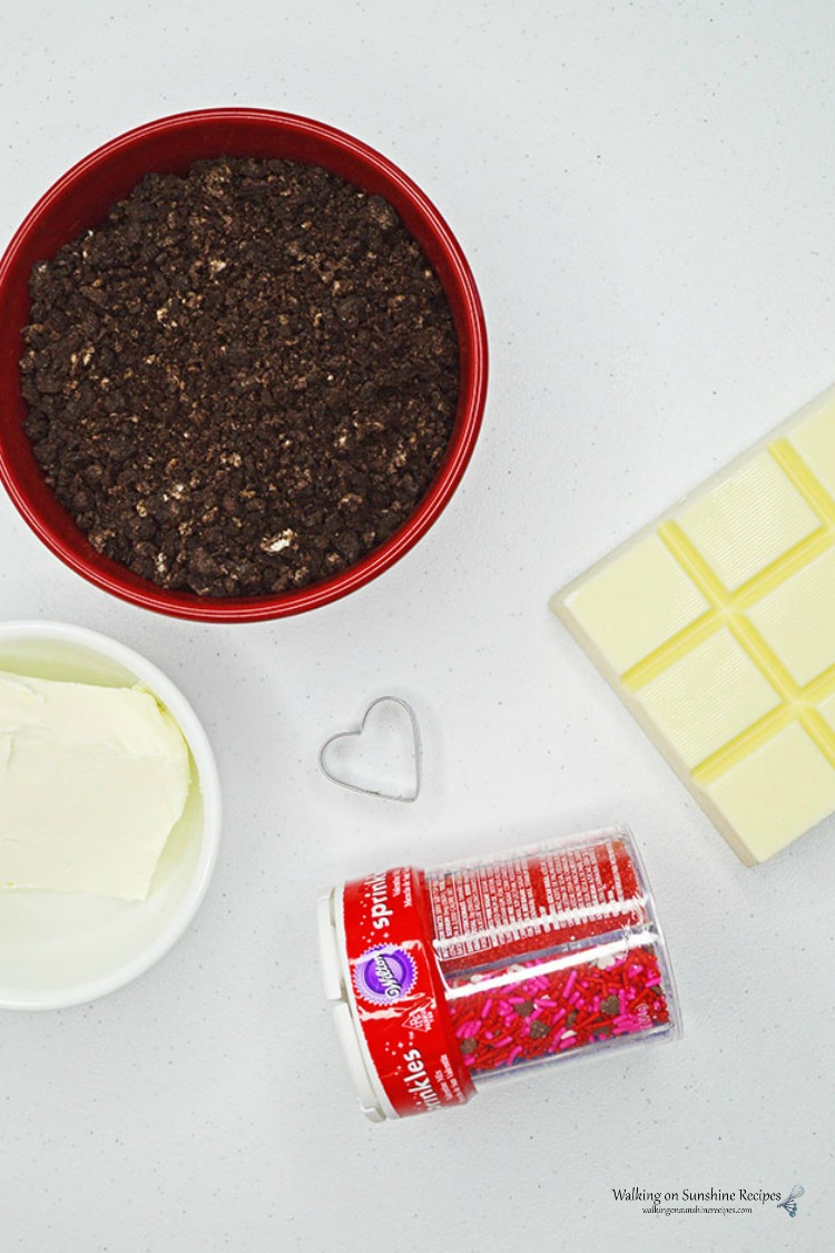 Ingredients for Oreo Truffles