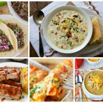 Weekly Meal Plan: Instant Pot Recipes your Family will Love!