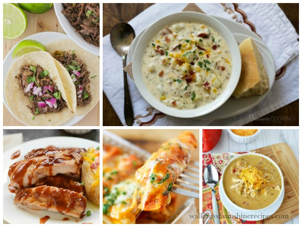 Instant Pot Recipes FEATURED photo Walking on Sunshine Recipes
