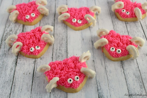 Love Bug Sugar Cookies