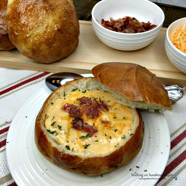 Easy Bread Bowls for Soup