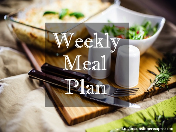 Weekly Meal Plan - 5 Instant Pot Recipes - Walking on Sunshine Recipes #instantpot #mealplan