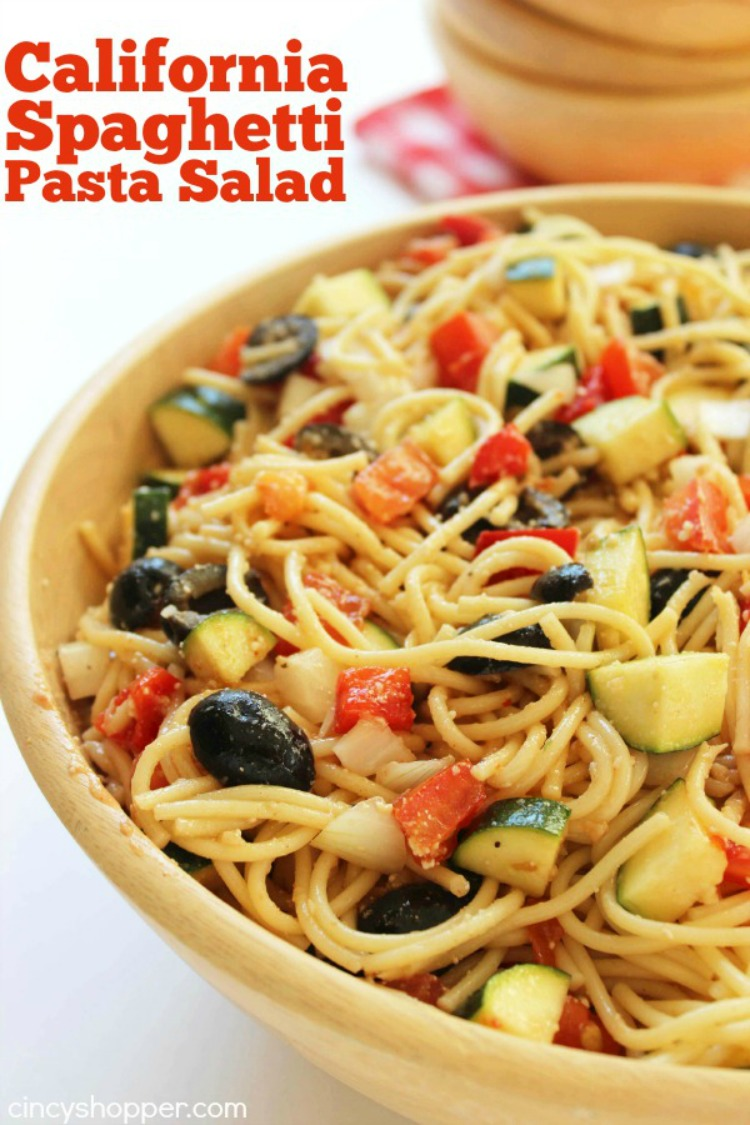 California Spaghetti Pasta Salad from Cincy Shopper
