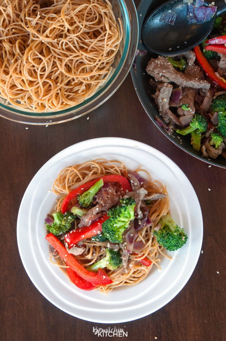 Healthy Steak Stir Fry