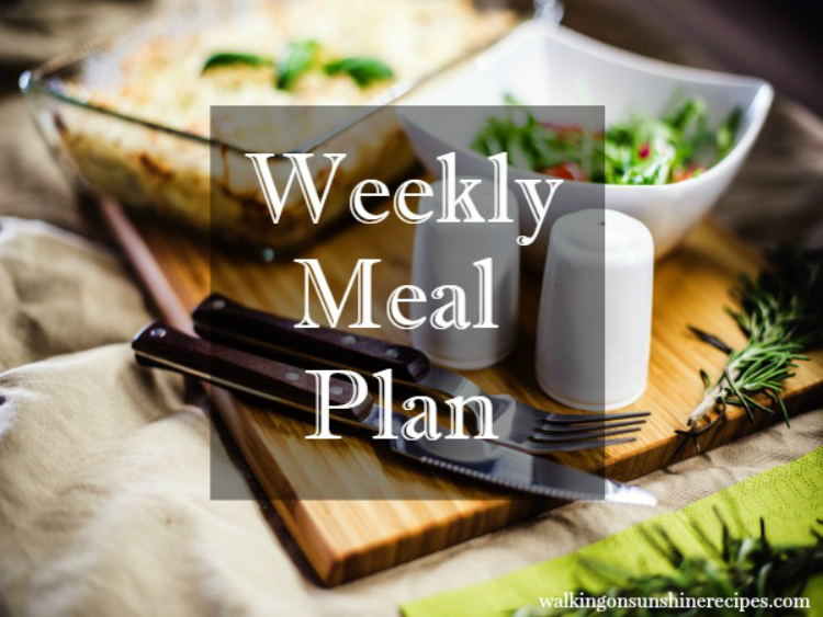 Weekly Meal Plan Featured photo