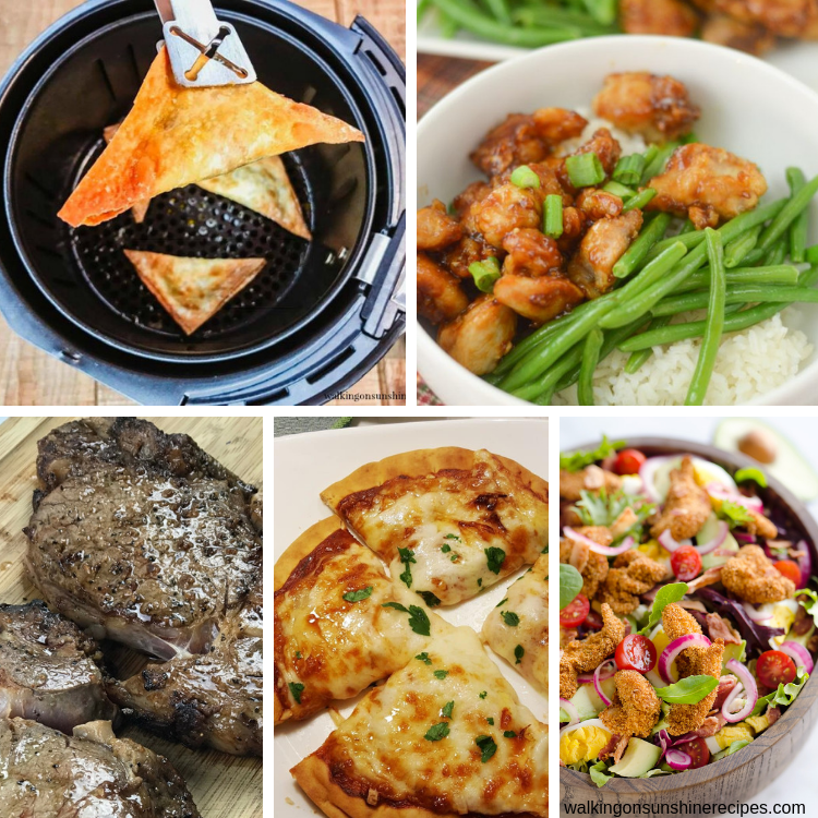 Air Fryer Recipes Weekly Meal Plan