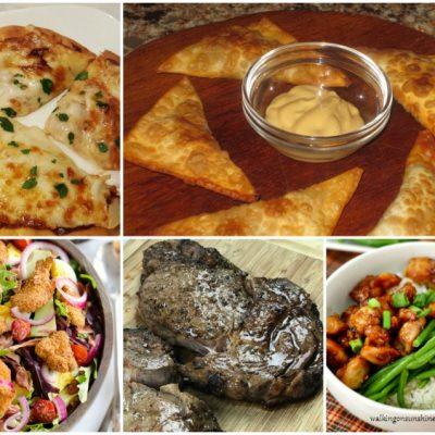 Weekly Meal Plan:  Easy Air Fryer Recipes