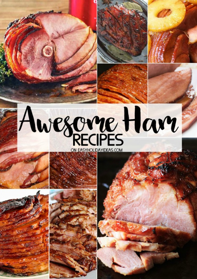 Awesome Ham Recipes from Easy Holiday Ideas