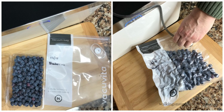 Food Vacuum Sealer by Vacuvita from Walking on Sunshine Recipes.