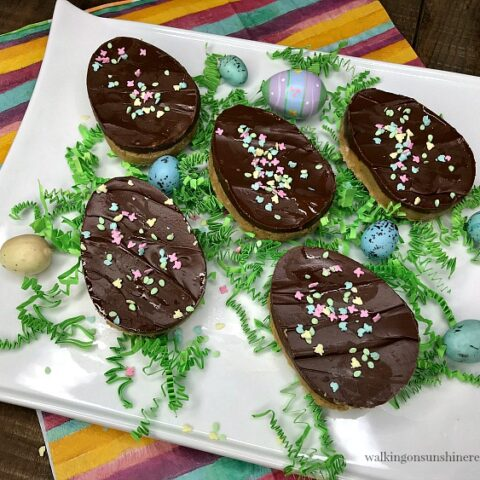 Chocolate Peanut Butter Eggs from Walking on Sunshine Recipes