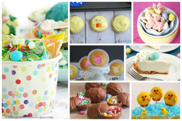 Easter Treats FEATURED photo from Walking on Sunshine Recipes
