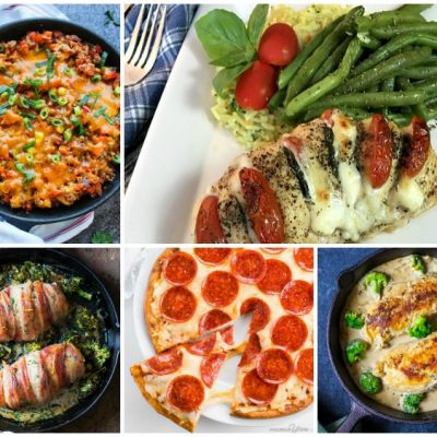 Weekly Meal Plan: 5 Delicious Keto-Friendly Recipes